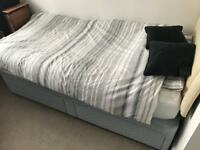 Single Duvan bed