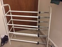 4 Tier Shoe Storage Rack - Fully Extendable