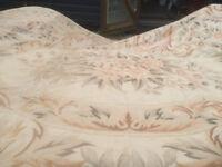 Beautiful Large Vintage Chinese Rug. 100% Wool Needlepoint 3metres x 4 metres