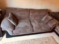2No Three Seater Sofa for Sale