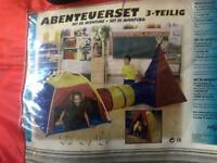 Kids Adventure Tunnel Tent