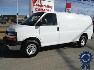 2016 Chevrolet Express 2500 Cargo Van-Rear Heater-Only 16,376 KM
