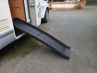 Folding Portable Dog Ramp - Car, Caravan etc