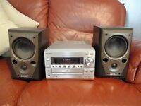 Kenwood Integrated Audio System, CD Player, Radio, Hifi, Mission Speakers