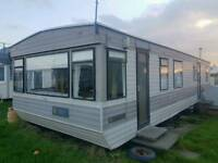 Starter caravans on Millisle Beach Caravan Park