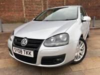 2008 / VW / GOLF GT / TDI / ALLOYS / LEATHER / CD / LOVELY CAR / NOV MOT .