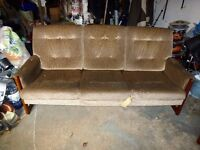 Sofa and 2 matching chairs . Excellent Condition.