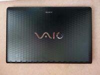 "For sale used 17"" laptop Sony VAIO VPCEJ"