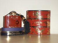 Yves Saint Laurent Opium Parfum 7.5ml Rare Vintage