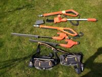 FLYMO Sabrecut Hedge trimmer and chain saw lopper