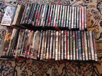 60+ Horror DVD's