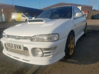 subaru impreza Version 1 wrx closed deck block low mileage only 2 owners