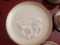 Denby Daybreak dinner service Hardly used, as new.