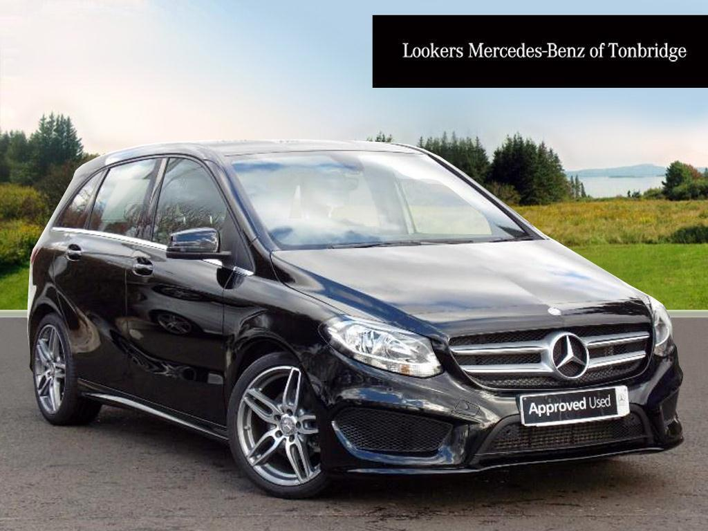 Mercedes benz b class b 180 d amg line executive black for Mercedes benz b class 180