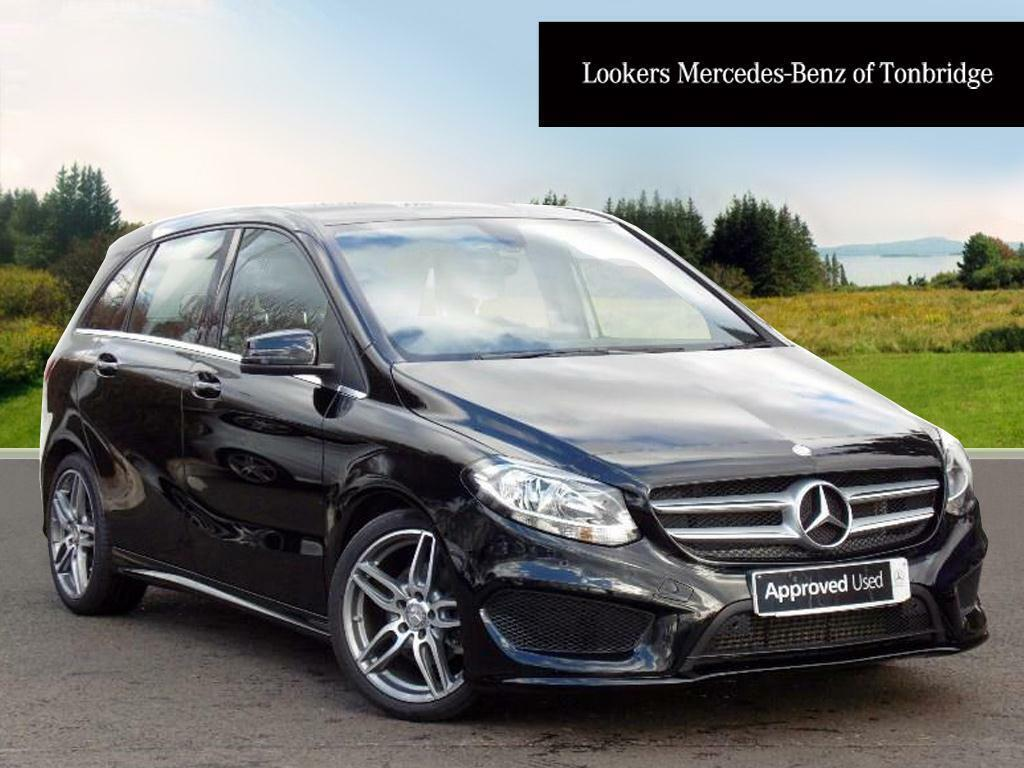 mercedes benz b class b 180 d amg line executive black 2016 03 11 in tonbridge kent gumtree. Black Bedroom Furniture Sets. Home Design Ideas