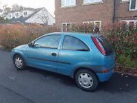 Vauxhall Corsa 1.0 Club 3 Door Petrol - For Sale