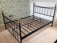 DOUBLE BED IRON FRAME