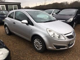 VAUXHALL CORSA 1.2 i 16v LIFE HATCHBACK 3DR 2008 * IDEAL FIRST CAR * CHEAP INSURANCE * LOW MILEAGE