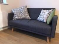 Grey Two Seater Sofa from Sofology - Immaculate Condition