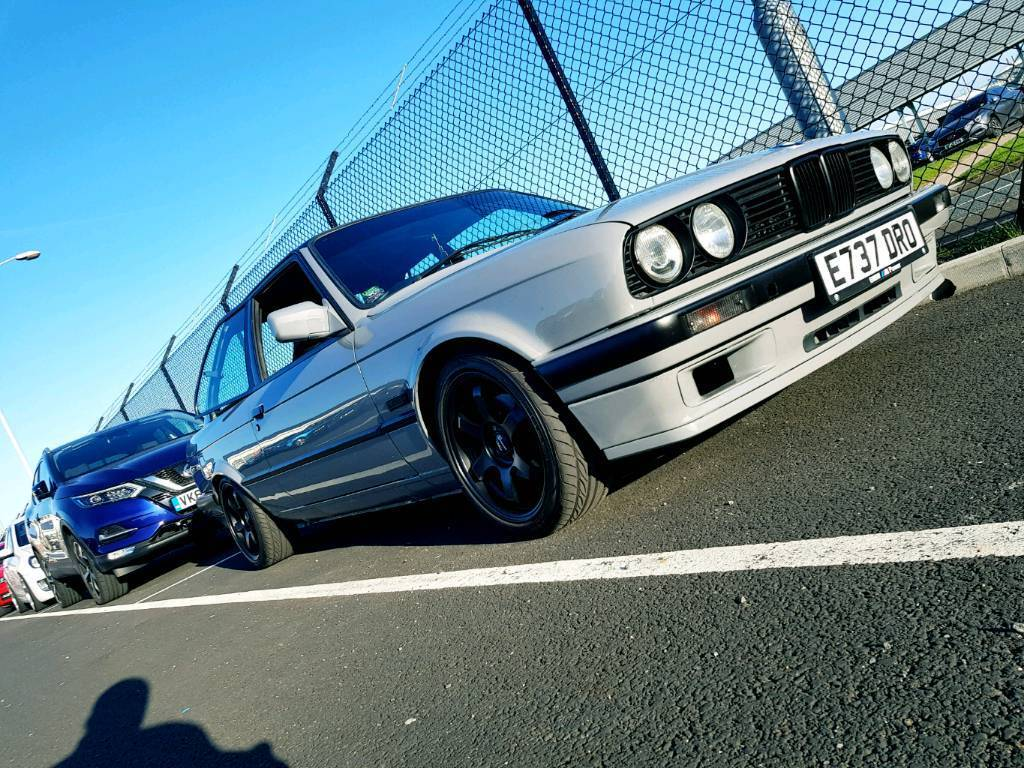 Bmw e30 325i m52 show/track car swap evo impreza m3 200sx ...