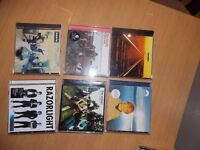 CD's for Sale: Oasis, The Verve, The Thrills, Razorlight, Cast and Starsailor