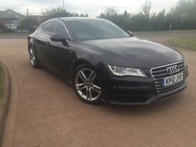 2012 AUDI A7 S-LINE 3.0 TDI - FASH - OOLONG GREY - MUST SEE