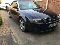 Audi convertible 2.5 diesel manual