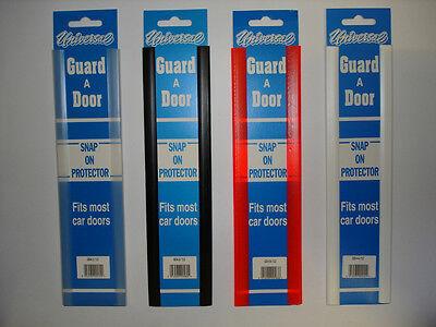 CAR DOOR OR BOOT EDGE GUARD PROTECTOR CLEAR PAIR SNAP ON 300ml UNIVERSAL VAN