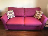Sofas - 3 seater sofa and 2 seater sofa bed