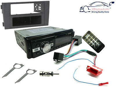 AUDI A6 01-04 Car Stereo Head Unit Radio, Bluetooth USB PORT MP3 SD, Fascia Kit