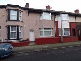 3 bedroom house Spenser Street Bootle L20 **recently completely renovated**