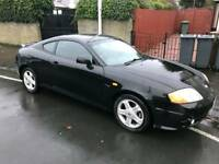 Hyundai coupe s with private plate 1 years mot