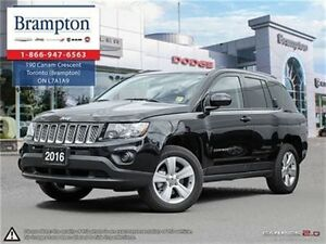 2016 Jeep Compass NORTH 4X4   EX DEMO   6.5 IN TOUCHSCREEN   UCO