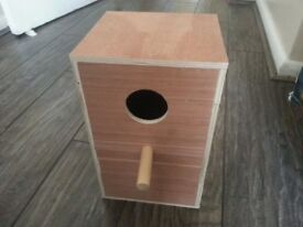 Breeding Nest Box for Cockatiel and Conures