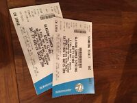 Biffy Clyro Bellahouston Park Glasgow - 2 standing tickets for sale