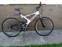 Raliegh Lithium FS mountain bike