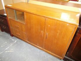 Vintage Sideboard/Storage…Ideal up-cycling project...WF2095