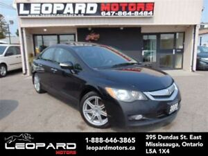 2009 Acura CSX Leather,Sunroof,Paddles*No Accident*