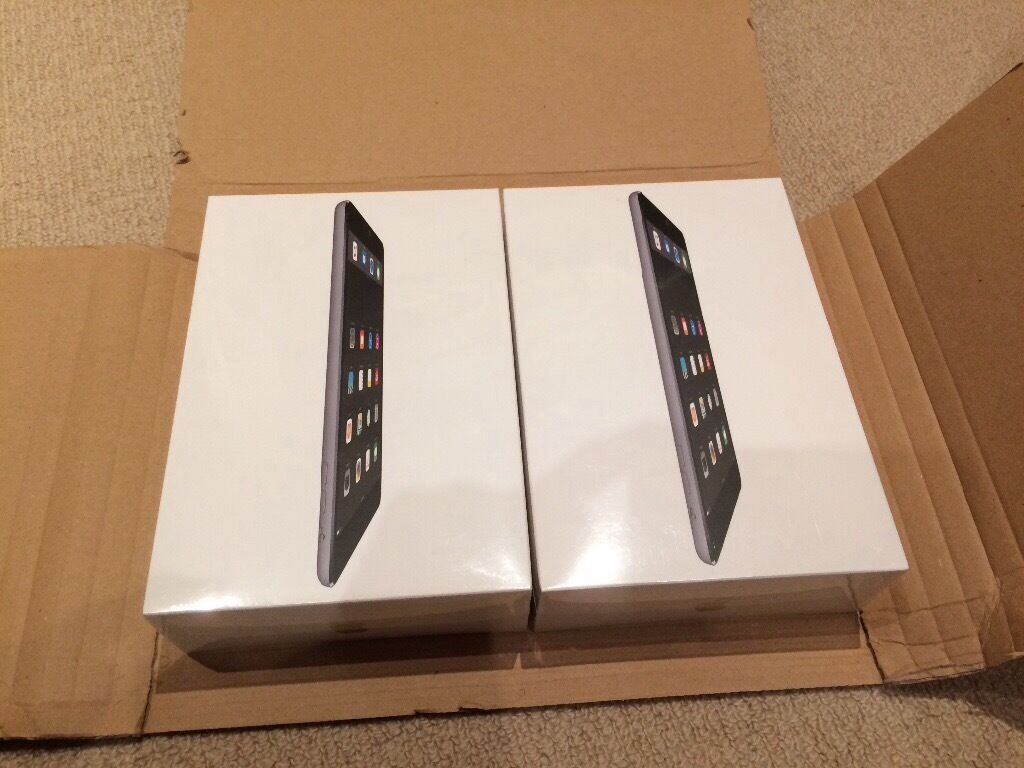 2 x BNIB Apple iPad Mini 2 WIFI 32GB Space Grey