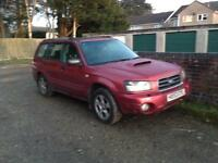 Subaru forrester for spares and repairs