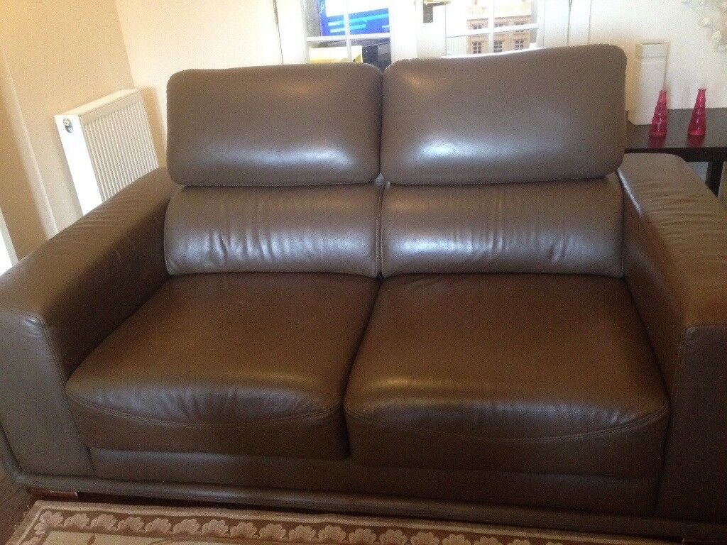 Corner Leather Recliner Sofa Come Bed In Portlethen Aberdeen