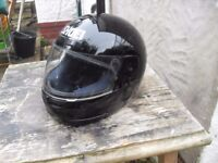 BIKER HELMET GOOD CON GOOD MAKE ONLY £10 SMALL SIZE
