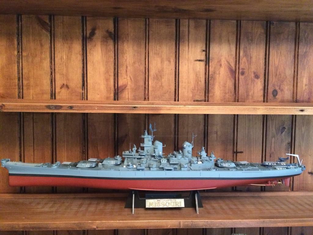 TAMIYA Model HMS Missouri REDUCED