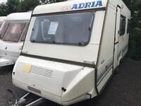 Adria optima 1996 4 berth touring caravan