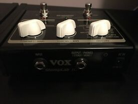 For sale VOX Amplifier Multi Effect Stomplab Pedal for Guitar