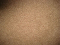 Axminster Carpet offcut. 3.080 x1.700mm in medium brown