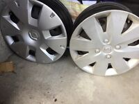 Renault Clio steel wheels 15""