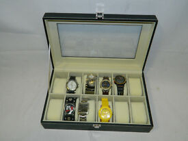 Selection of watches including yellow metal Chanel