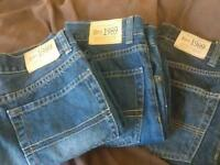 New! 3 pair of boys jeans, Husky size 7