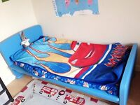 Excellent condition boy's single bed with mattress for £25!!